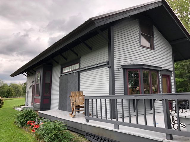 Exterior of Historical Landmark in Essex Junction, Vermont
