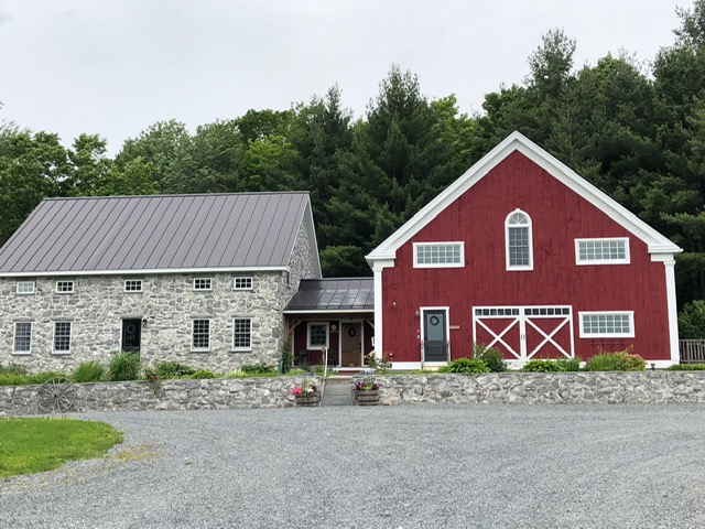 Exterior of the Inn at Grace Farm, Fairfax, Vermont