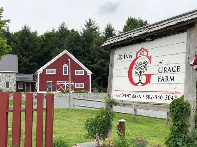 Exterior of the Inn at Grace Farm, Fairfax, Vermont
