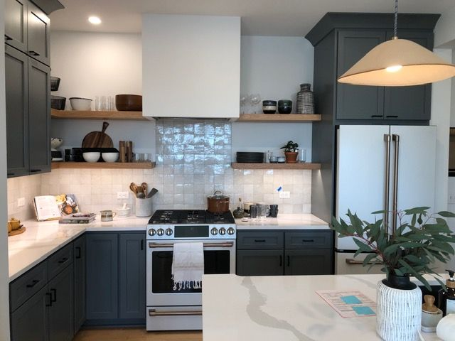 painted cabinets in vermot