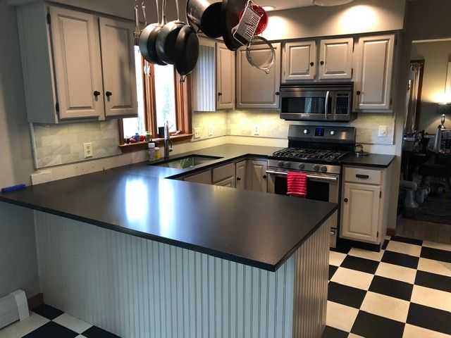 painted cabinets in vermont